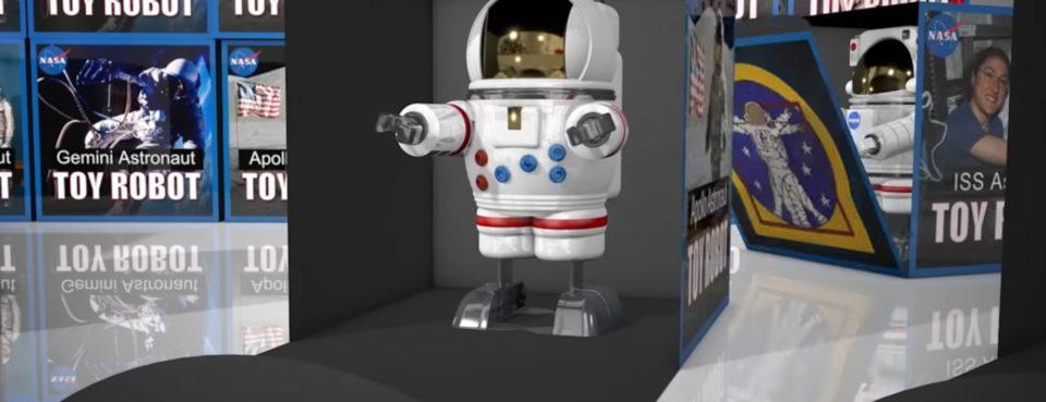 Jouets La NASA vous souhaite ses meilleurs vœux avec un film… perturbant
