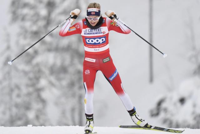 Ski Ski de fond – Tour de ski (F) – Tour de ski : Therese Johaug remporte la première étape Lenzerheide