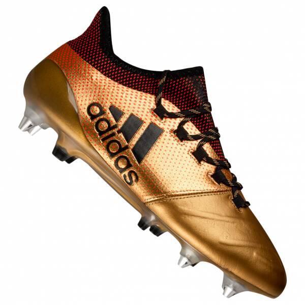 Chaussures de sport Adidas X 17.1 SG Cuir Hommes Chaussures de foot
