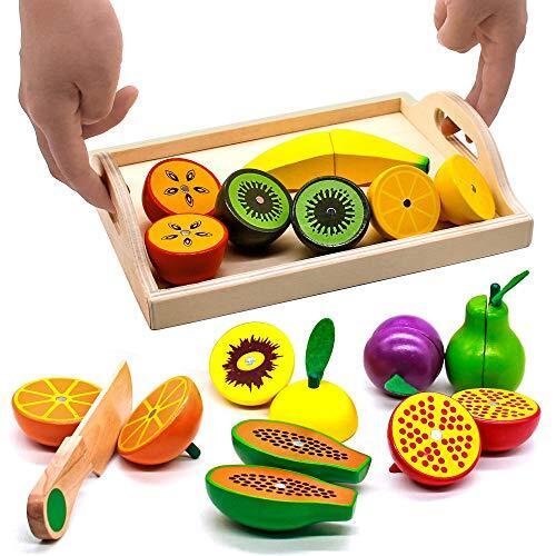 Jouet Jouet Fruits à Découper en bois (vendeur tiers)