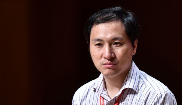 Bebe Chine : le créateur des bébés OGM condamné à trois ans de detention heart