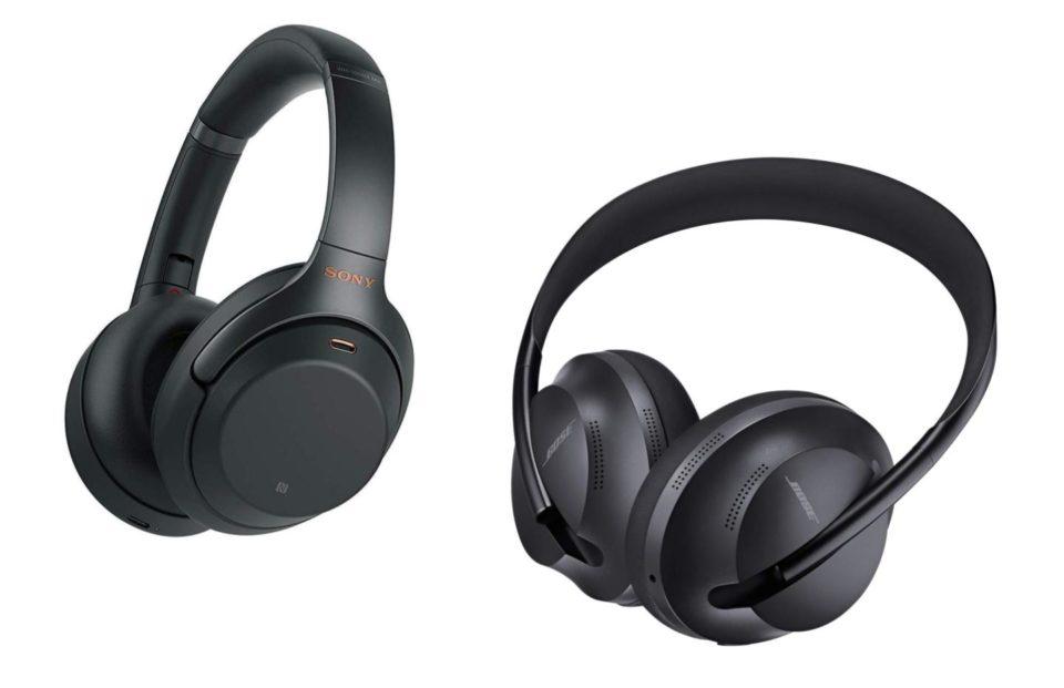 Casque audio Bose Headphones 700 vs Sony WH-1000XM3 : le duel des promos