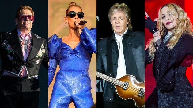 Bikini Elton John, Céline Dion, Paul McCartney, Madonna… Les concert events les plus attendus de 2020