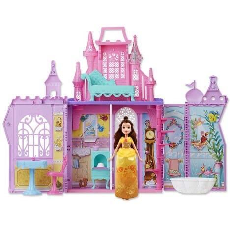Jouet Jouet Hasbro Château Mallette + poupée Belle – Disney Princess