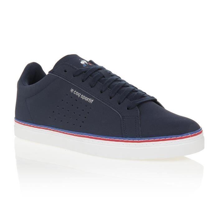 Chaussures de sport LE COQ SPORTIF Baskets COURTACE SPORT – Adulte – Bleu – Taille 41 à 46