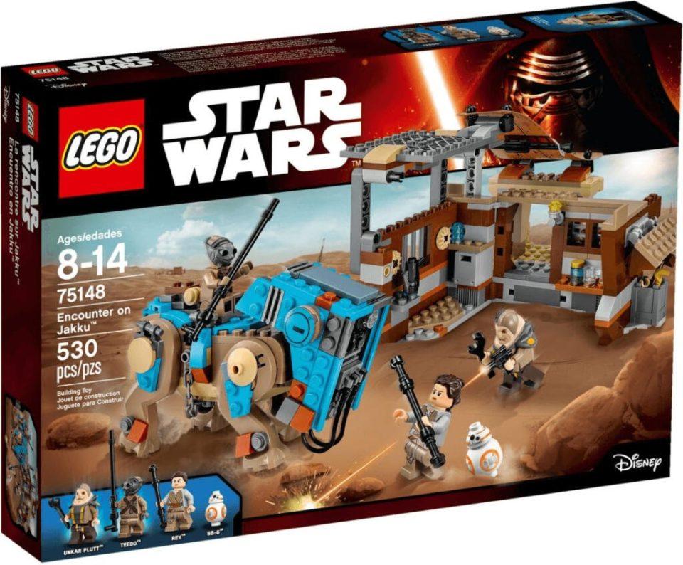 Jouet Jouet Lego Indispensable person Wars – Rencontre sur Jakku (75148)