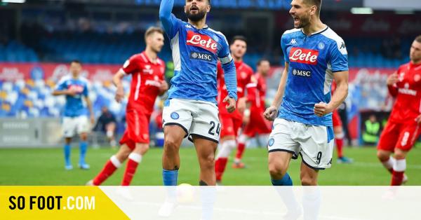 Maillot de bain Naples soigne ses plaies en Coupe d'Italie face à Pérouse