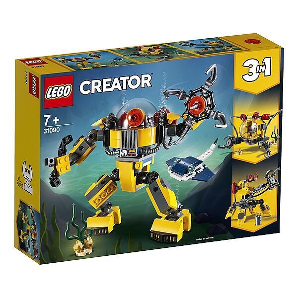 Jouet Jouet Lego Creator – Le robotic sous-marin (31090)