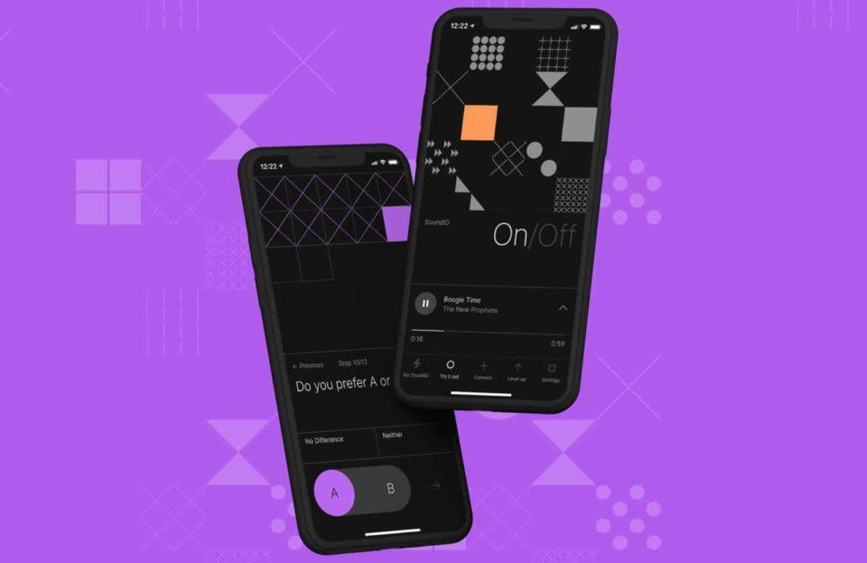Casque audio Sonarworks SoundID, application cell pour améliorer le rendu des écouteurs et casques
