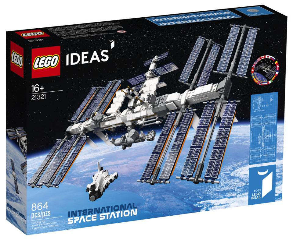 Jouets La Characteristic Spatiale Internationale se décline en briques LEGO