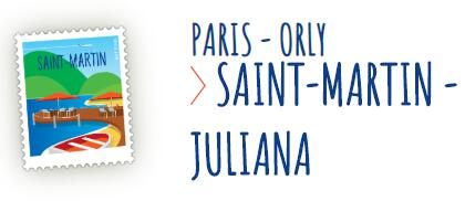 Bagage AIR CARAIBES : Paris – SAINT-MARTIN à 349€ : Exemple du 28/04 au 19 mai à 349€