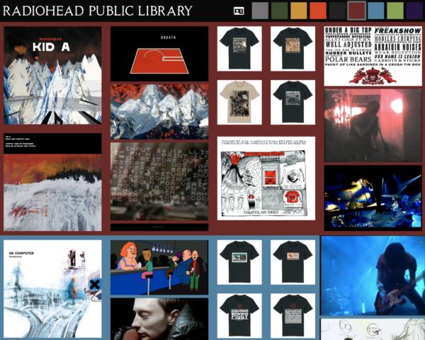 Musique Radiohead ouvre une « bibliothèque publique » en ligne