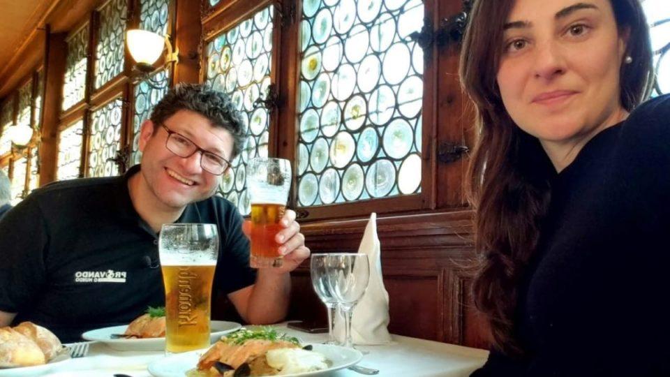 """Camping Strasbourg : """"La choucroute c'est fantastique"""", un couple brésilien découvre la delicacies alsacienne"""