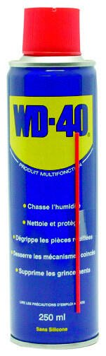 Bricolage Dégrippant multifonctions WD40 – 250 ml