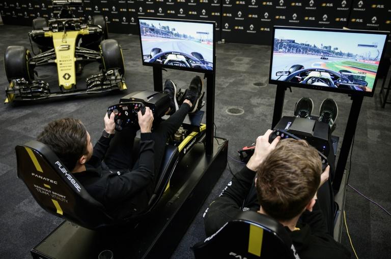 Jeux video Esport: Renault F1 aux frontières du réel et du virtuel