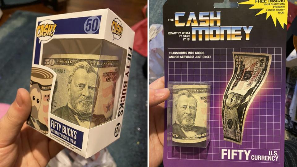 Jouets À Noël, les enfants préfèrent avoir de l'argent : alors cet oncle à eu une idée de génie