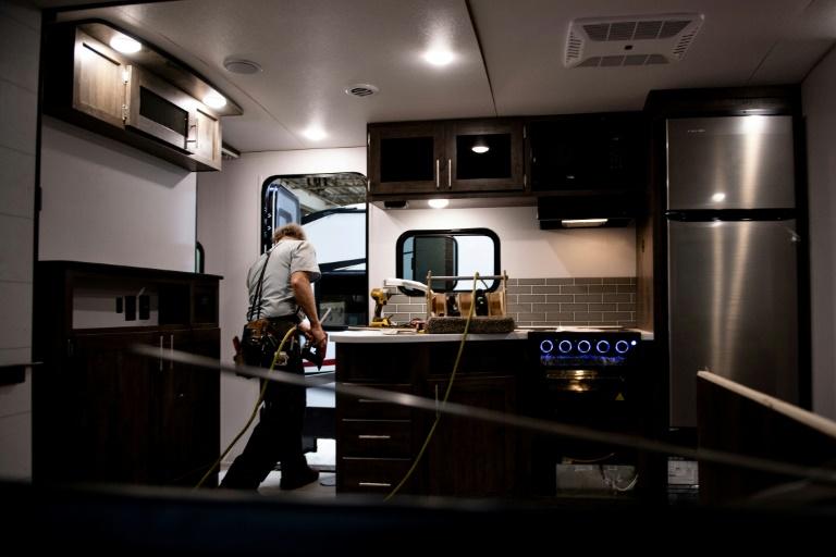 Camping Emblème des routes américaines, le camping-automobile est aussi un baromètre économique