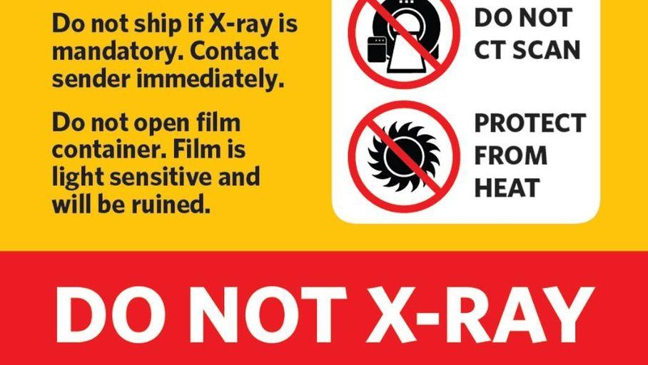 Bagage Actualité : Avertissement de Kodak : les motion footage seront endommagés lors du passage aux aéroports américains