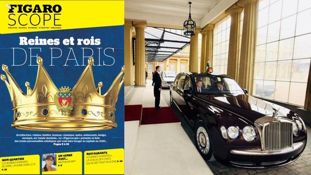 Musique Reines et rois de Paris en 2020: à l'arrière des berlines…