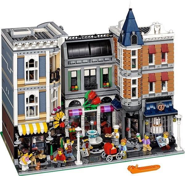 Jouet Jouet Lego Creator 10255 – La situation de l'assemblé