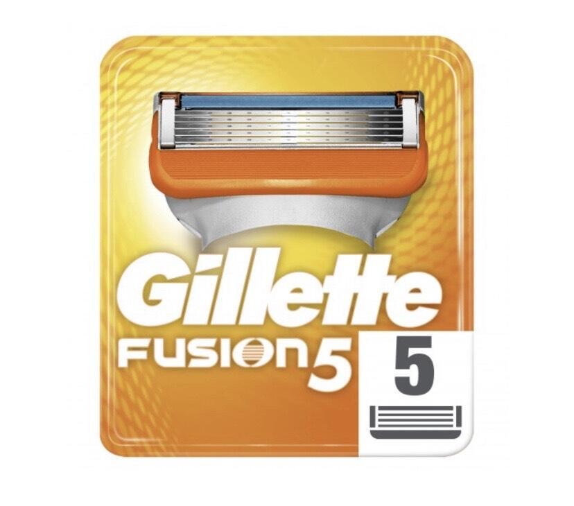 Rasage Rasoir lames pour homme GILLETTE FUSION le paquet de10 pièces (by approach of 20.26€ sur la carte)