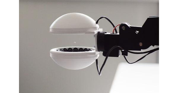 Ecole [Vidéo] Un bras robotique succesful d'agripper sans toucher