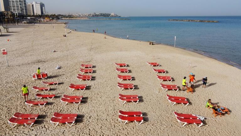 Bikini En Israël, retour au bonheur des plages après le confinement