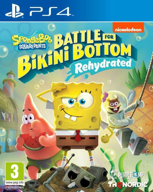 Bikini [Précommande] SpongeBob SquarePants: Warfare for Bikini Bottom – Rehydrated sur PS4