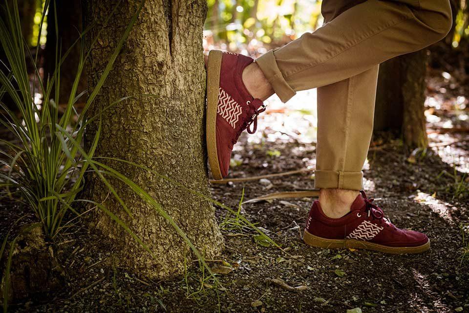 Chaussures N'Skedaddle lance une series de sneakers recyclées
