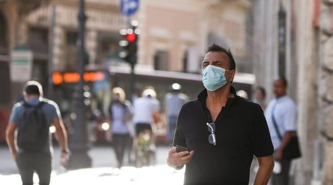 Bricolage Coronavirus: L'Italie ferme les discothèques etimpose le port du masque le soir en public