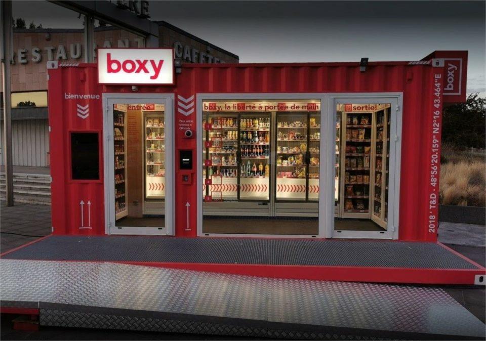 Epicerie Boxy : un premier magazin 100% automatisé et sans caisse s'invite à Gennevilliers