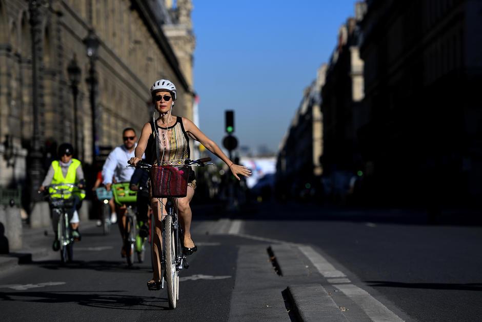 """Chaussures Les Parisiens capables de faire du vélo et de rester """"lessons"""""""