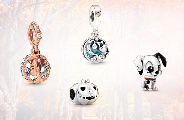 Bijoux Une trim sélection de pendentifs merveilleux en promo chez Pandora!